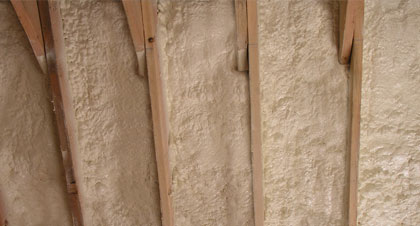 closed-cell spray foam for Tulsa applications